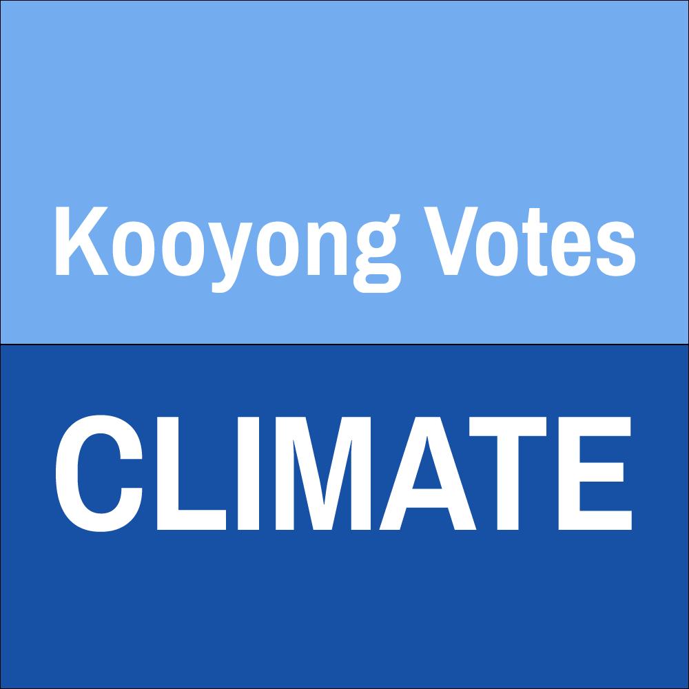 Kooyong Votes Climate
